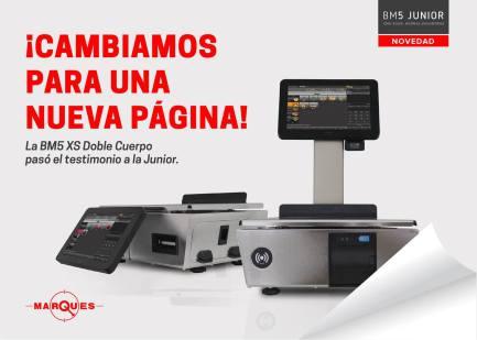 Nueva Balanzas Márques serie Junior BM5