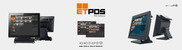 Gama Tpv para el comercio, alimentación y panaderias pastalerias- Software Etpos 5 - TAKE-AWAY