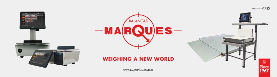 Balanzas, Basculas industriales y Tpv Táctiles Marques